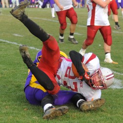 Bucksport caps off unbeaten regular season by knocking off Mattanawcook in LTC football clash