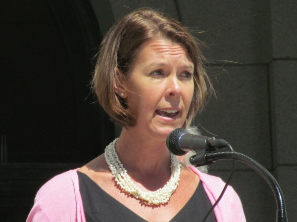 Suzanne McCormick, president and CEO of United Way of Greater Portland, pictured here in a 2013 file photo, helped release the 19th annual Maine KIDS COUNT report Thursday alongside the nonprofit Maine Children's Alliance.