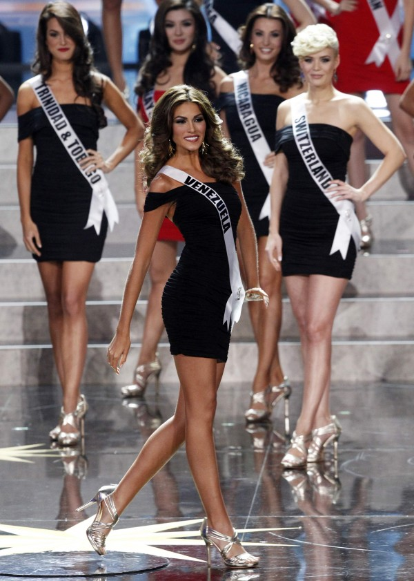 Miss Venezuela Gabriela Isler competes in the Miss Universe 2013 pageant at the Crocus City Hall in Moscow Nov. 9, 2013.