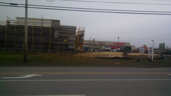 A building under construction on Stillwater Avenue in Bangor, near Five Guys Burgers and Fries and Sweet Frog, likely will be home to national bedding retailer Mattress Firm, according to an application for a certificate of occupancy filed with the city.