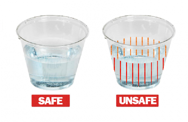 DrinkSavvy's plastic drinkware detects whether a drink has been drugged and changes color. The product was developed by Falmouth native Mike Abramson, a patent attorney in Boston.