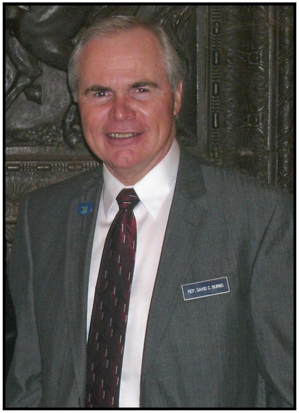 Sen. David Burns, R-Whiting