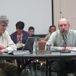 Rockland-area school board proceeds with hearing to fire business manager