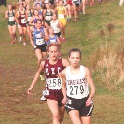 Cheverus girls second in New England meet