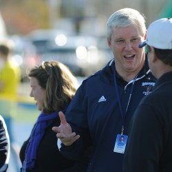 Steve Abbott draws on diverse background in sports, politics, law to lead UMaine athletics