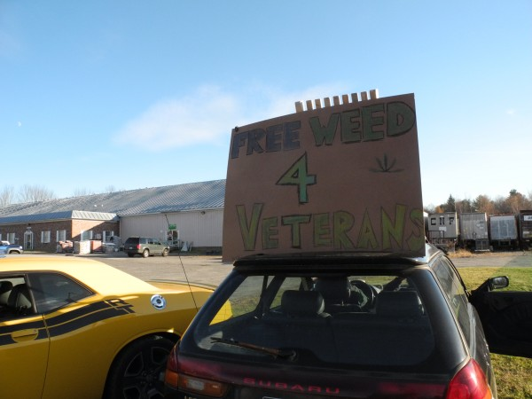 A local medical marijuana grower decided to celebrate Veterans Day by offering free marijuana to veterans — as long as they had their Maine state identifications and their physician certification for the medical marijuana program.