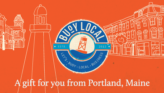 Buoy Local will be accepted in independent shops around Portland starting Nov. 30.