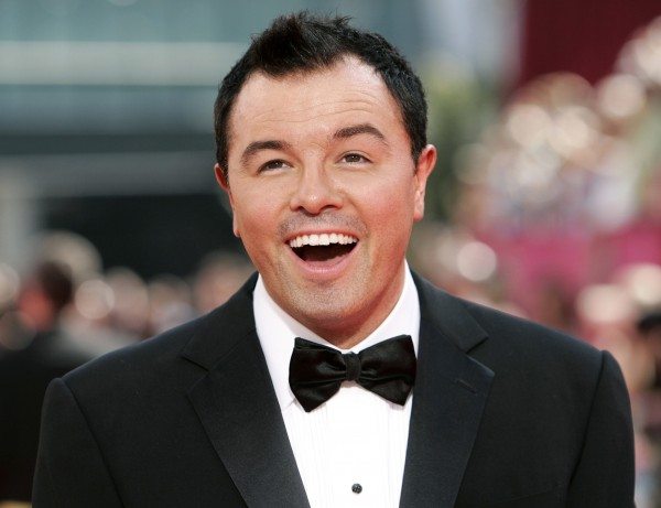 Seth MacFarlane, the creator of &quotFamily Guy&quot, arrives at the 61st annual Primetime Emmy Awards in Los Angeles in this Sept. 20, 2009 file photo.