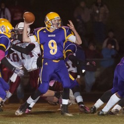 Bucksport players wrestle with football success