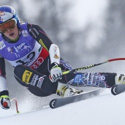 Even without men's race, Lindsey Vonn faces milestones