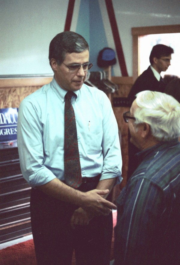 Michael Michaud, candidate for the Legislature, is shown in 1994.