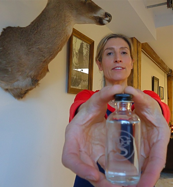 Perfumist Lisa Brodar of Portland General Store has developed a cologne that both cows and urban cowboys adore.