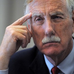Angus King, Susan Collins offer split reactions to first federal budget passed by Senate in 4 years