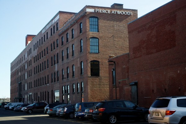 The former factory and cannery on Merrill's Wharf in Portland, now occupied by a law firm, was recently placed on the National Register of Historic Places.