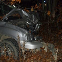 Pickup rolls over in Belfast, driver hurt