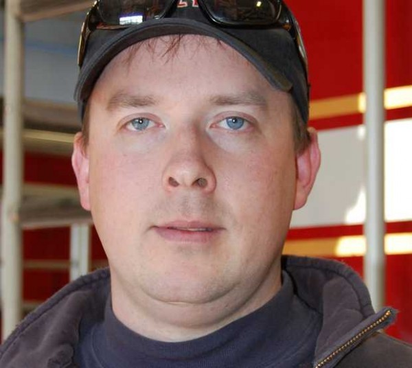 Livermore Falls fire Chief Tim &quotTD&quot Hardy