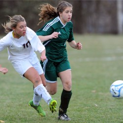 Late Carmichael goal enables Bucks to earn 1-1 double overtime tie with Orono