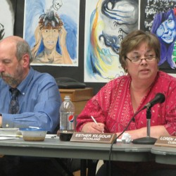 Rockland-area school board engages in heated debate; superintendent walks out