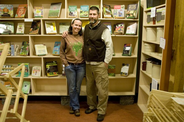 Shift Sustainable Home Goods owners Corie Washow and Rob Schulz are closing their business on Maine Street in Brunswick this month to pursue a more ecologically sustainable lifestyle.
