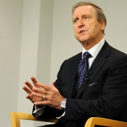 William Cohen visits his namesake school in Bangor