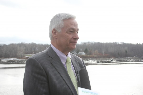 Mike Michaud announced at $10.5 million grant and loan package from the U.S. Department of Agriculture to improve Bucksport's wastewater treatment facility.