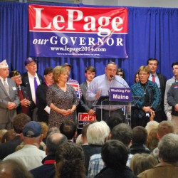 Read the prepared remarks of LePage's re-election speech