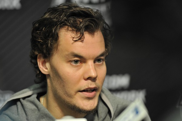 Boston Bruins goalie Tuukka Rask.