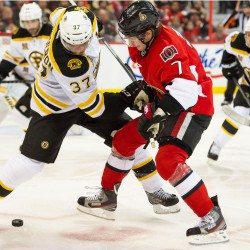 Bruins beat Senators 5-2, take lead in East