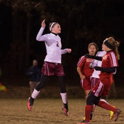 Anna-Maria Dagher, Boulier lead Bangor past Cony girls 4-1