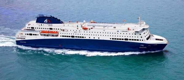 Quest Navigation, which has submitted a proposal to operate a new ferry service between Portland and Yarmouth, Nova Scotia, recently signed a long-term charter agreement to operate a 1,215-passenger ship, to be christened the Nova Star if the company's proposal is successful.
