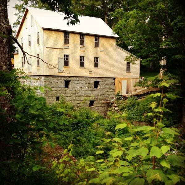 Newly restored mill at Freedom Falls