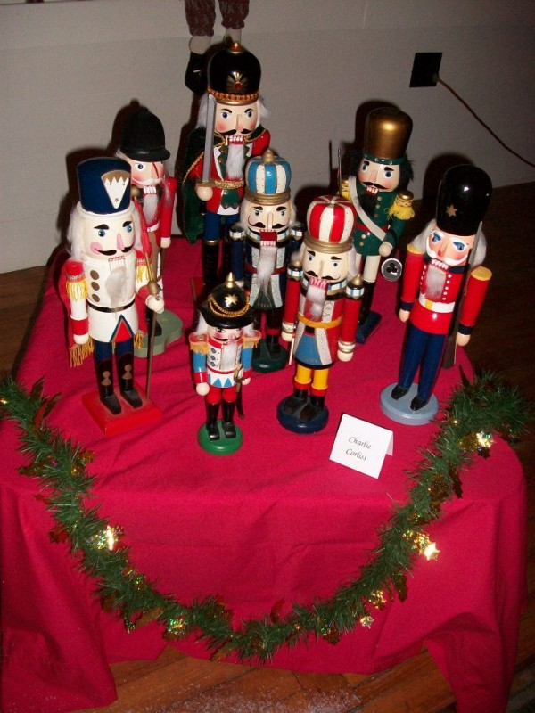Nutcracker display.