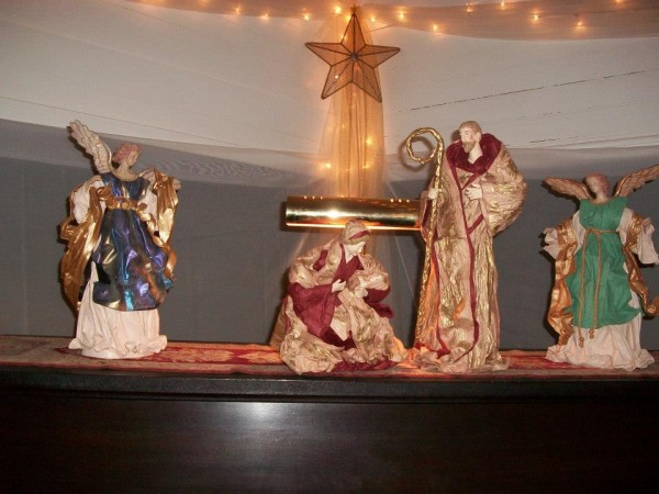 One of many nativity displays last year.