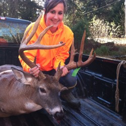 Sangerville man perseveres, bags buck of a lifetime