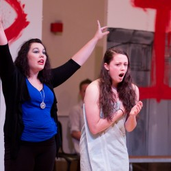 Rock musical of Stephen King's 'Carrie' premieres in Maine