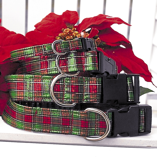 Photo courtesy of Dogn'i Apparel These special edition Christmas collars for 2013 from Dogn'i Apparel will add a festive note to any dog's wardrobe.