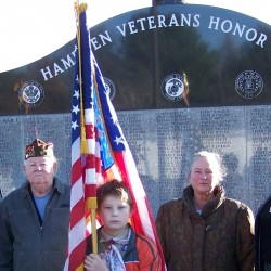 Veterans memorial finds its niche in Bucksport