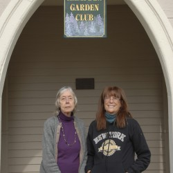 Hampden Garden Club digs in to restore historic landmark Harmony Hall