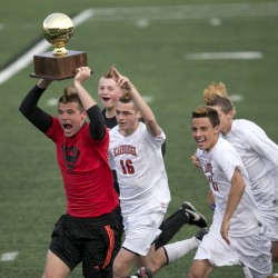 Windham tops Bangor for Class A girls soccer championship
