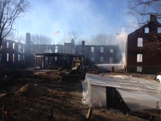 An early morning fire Saturday did between $5 million and $9 million worth of damage to The Inn at Great Diamond Cove.