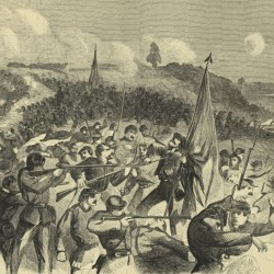 Sixth Maine's screaming demons hurdled the Stone Wall at Fredericksburg