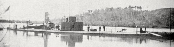 The USS Lehigh was a single-turret ironclad built for the United States Navy during the Civil War. In mid-November 1863 the ironclad ran aground at night off Morris Island at Charleston, S.C. When dawn revealed the stranded ship, Confederate cannons stationed around Charleston Harbor started shooting at the Lehigh. The ironclad was saved by the heroic efforts of her crew, including Seaman Horatio Nelson Young of Calais.