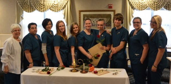 Graduates of MST's Fall 2013 Certified Nursing Assistant (CNA) program include, left to right instructor Marian Rector, RN, Brett Hayward, Shae Garton, Morgan Mitchell, Melissa Johnson, Stephanie Richards, Teara Rytky, Nicholas Robinson, Ashley Sabien and Kammie Howard.