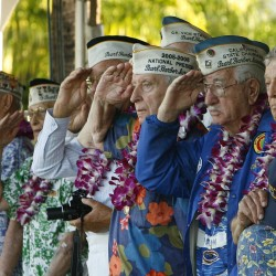 'I saw death all around me': Survivors commemorate Pearl Harbor attack