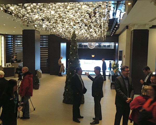 The Westin opens to guests on Thursday in Portland.