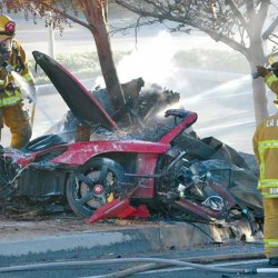 Detectives probe how fast Porsche was going in Walker crash
