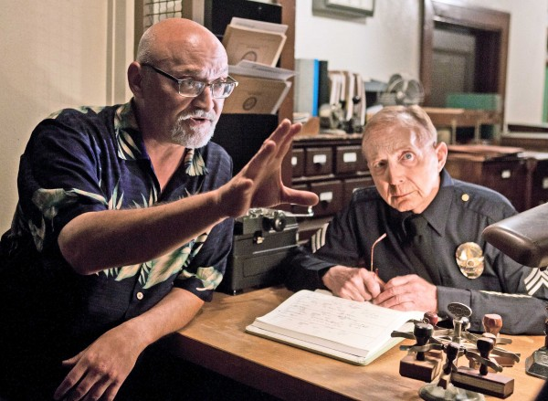 Frank Darabont, left, both writes and directs TNT's film-noir series about crime in L.A. in the '50s called, &quotMob City.&quot