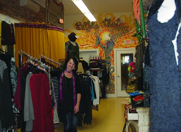 Lauren Helliwell opened up Restless Threads, a clothing store for women, on Kennebunk''s Main Street this fall.