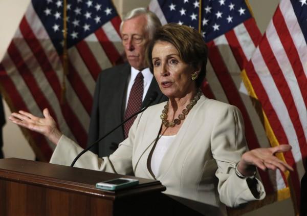 U.S. House Minority Leader Nancy Pelosi