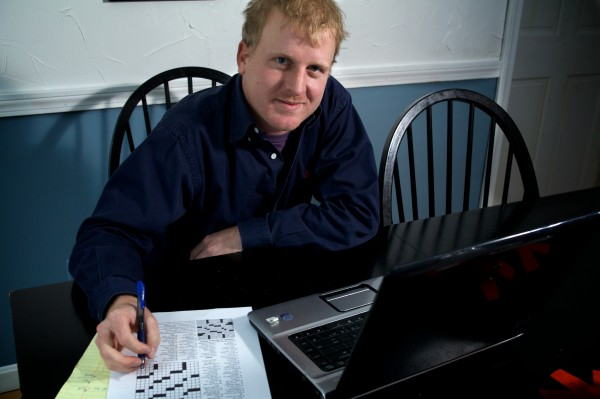 Mike Doran is the director of player development at the Maine State Golf Association, but he also constructs crossword puzzles for the New York and Los Angeles Times newspapers.